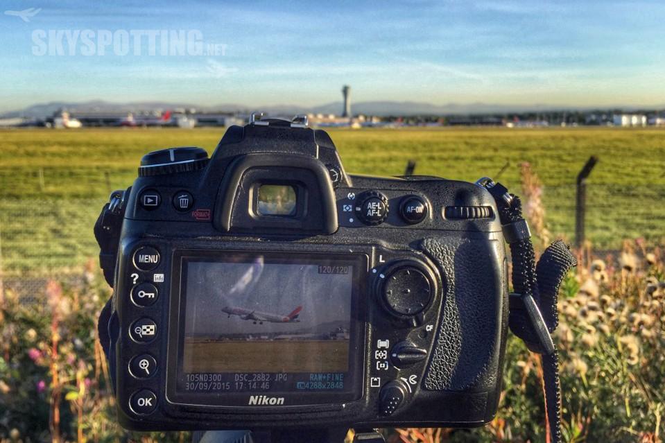 Plane spotting na lotnisku Edynburg