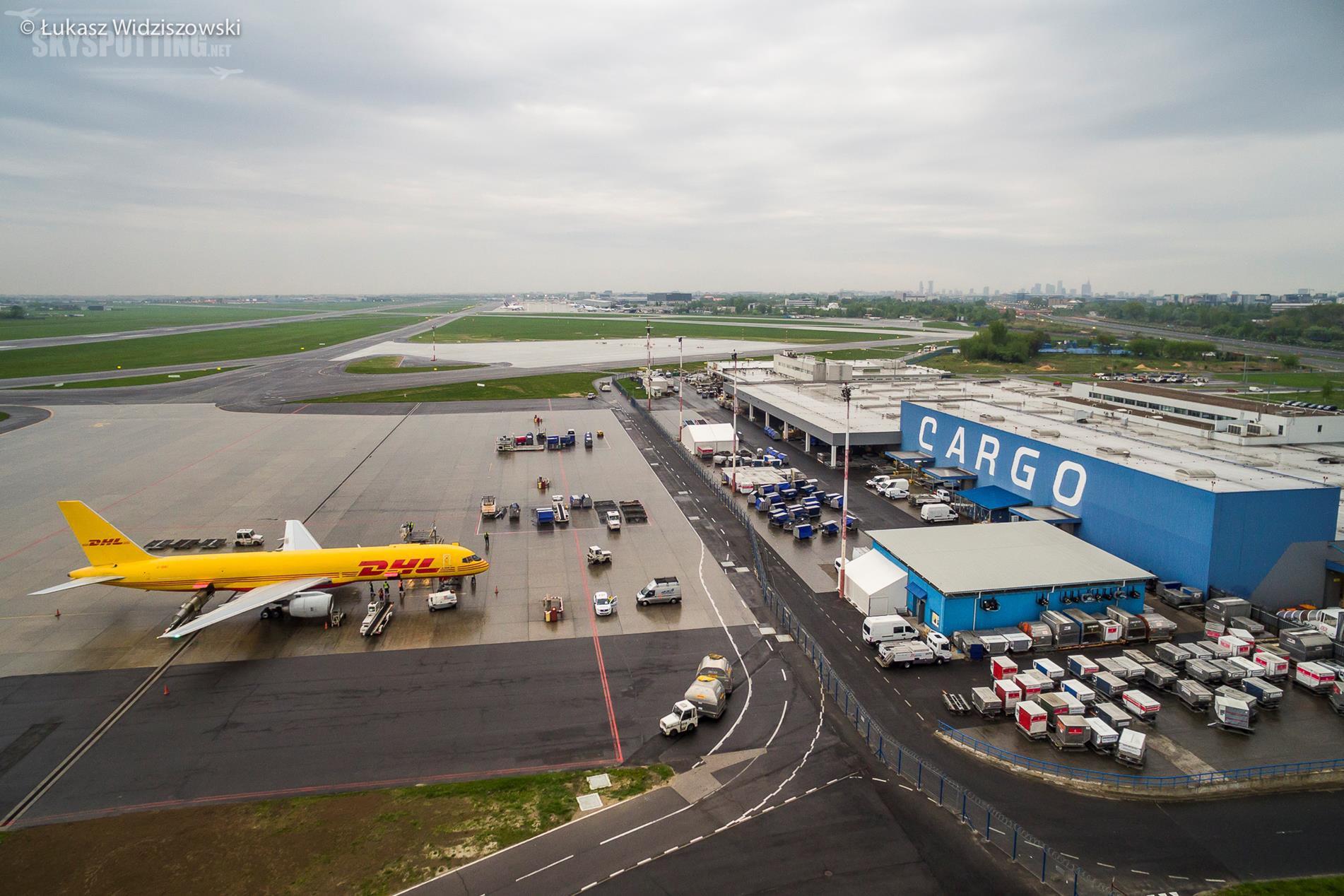 Doskonałe wyniki ruchu cargo na Lotnisku Chopina