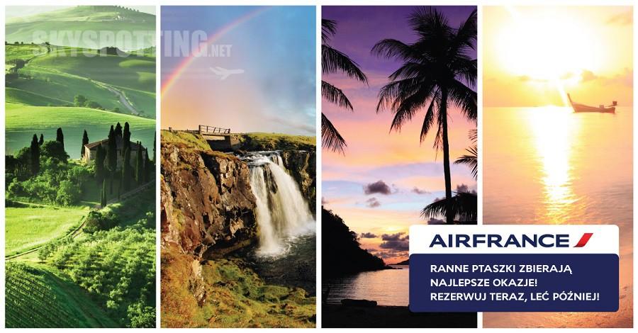 """Blisko 50 miast w najnowszej promocji """"First Minute"""" Air France KLM"""
