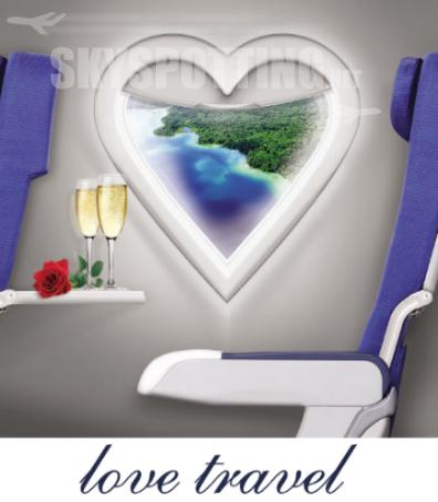 Prezenty w podróży poślubnej od Air France KLM