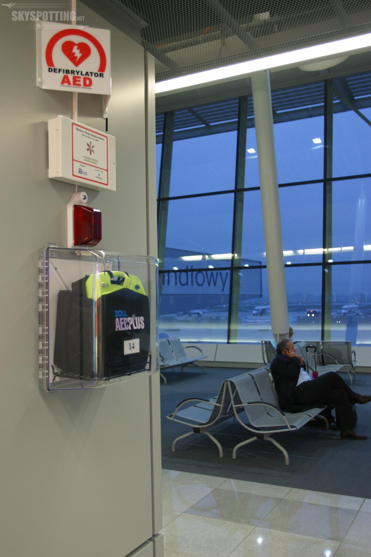 Lotnisko Chopina jako pierwsze w Polsce uruchamia kompleksowy system ratowania życia
