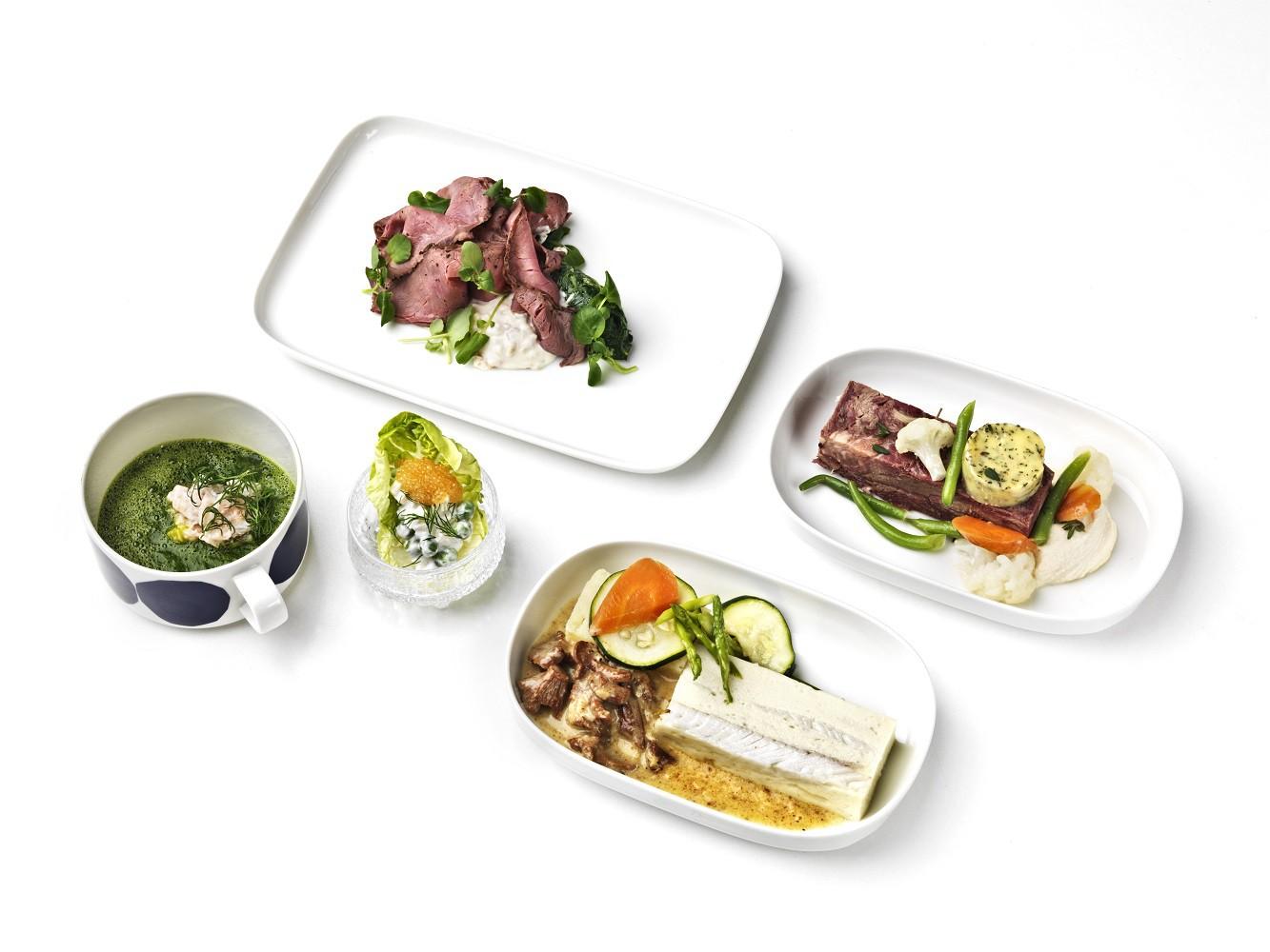 Spotkanie wschodu z zachodem: jedyne w swoim rodzaju kulinarne doznania podczas rejsów dalekodystansowych Finnaira w klasie biznes