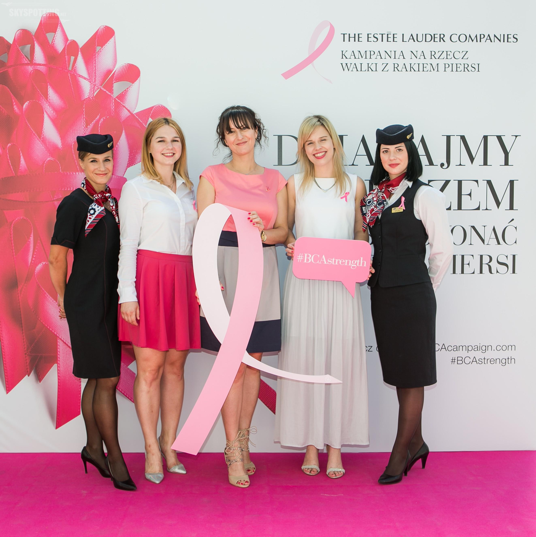Październik pod znakiem Różowej Wstążki – LOT został partnerem kampanii na rzecz walki z rakiem Piersi 2016