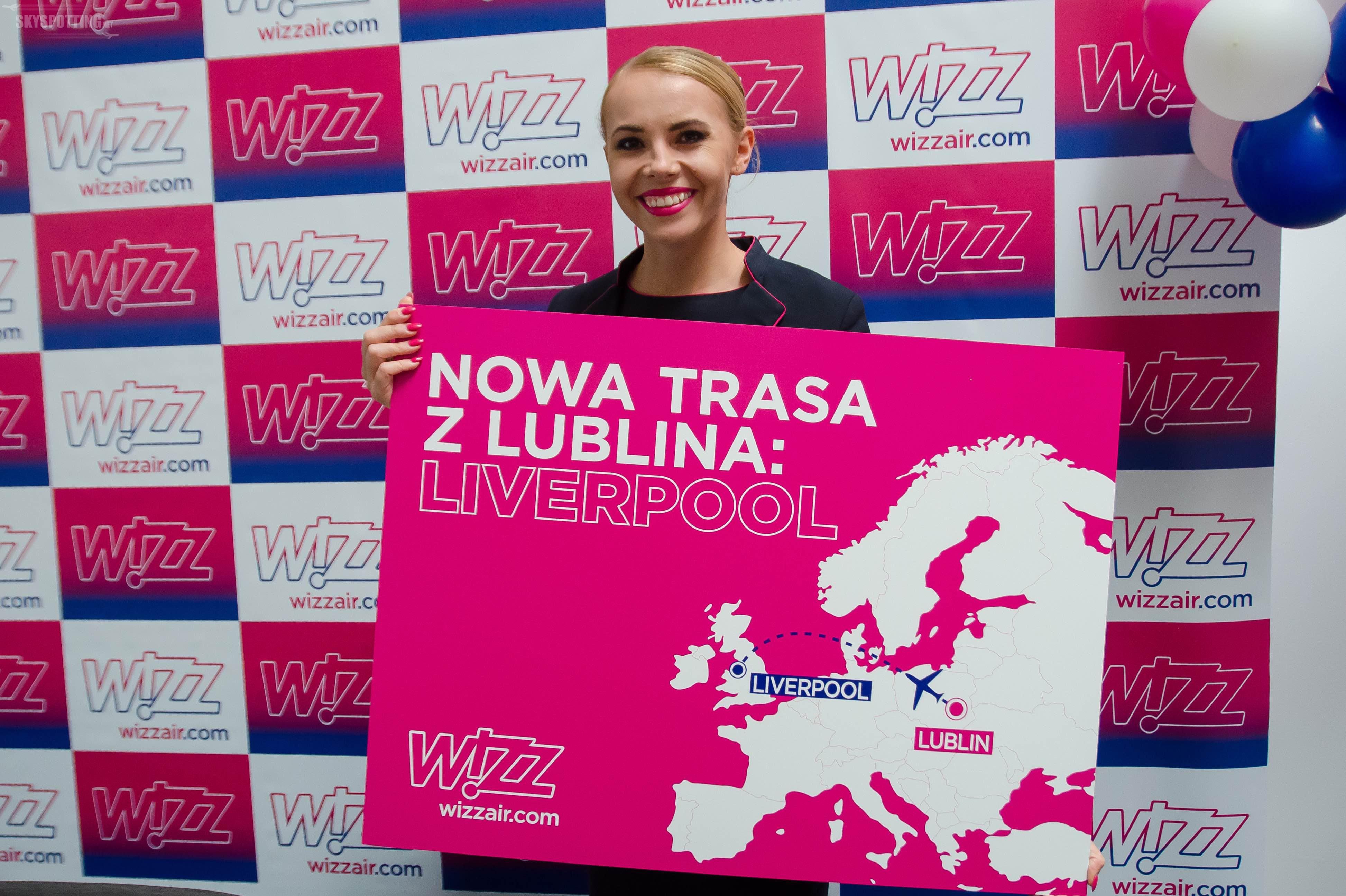 Wizz świętuje rocznicę bazy w Lublinie i ogłasza nowe połączenie do Liverpoolu