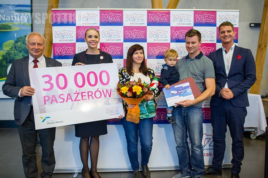Wizz Air świętuje znaczący kamień milowy ogłaszając nową trasę z portu lotniczego Olsztyn-Mazury