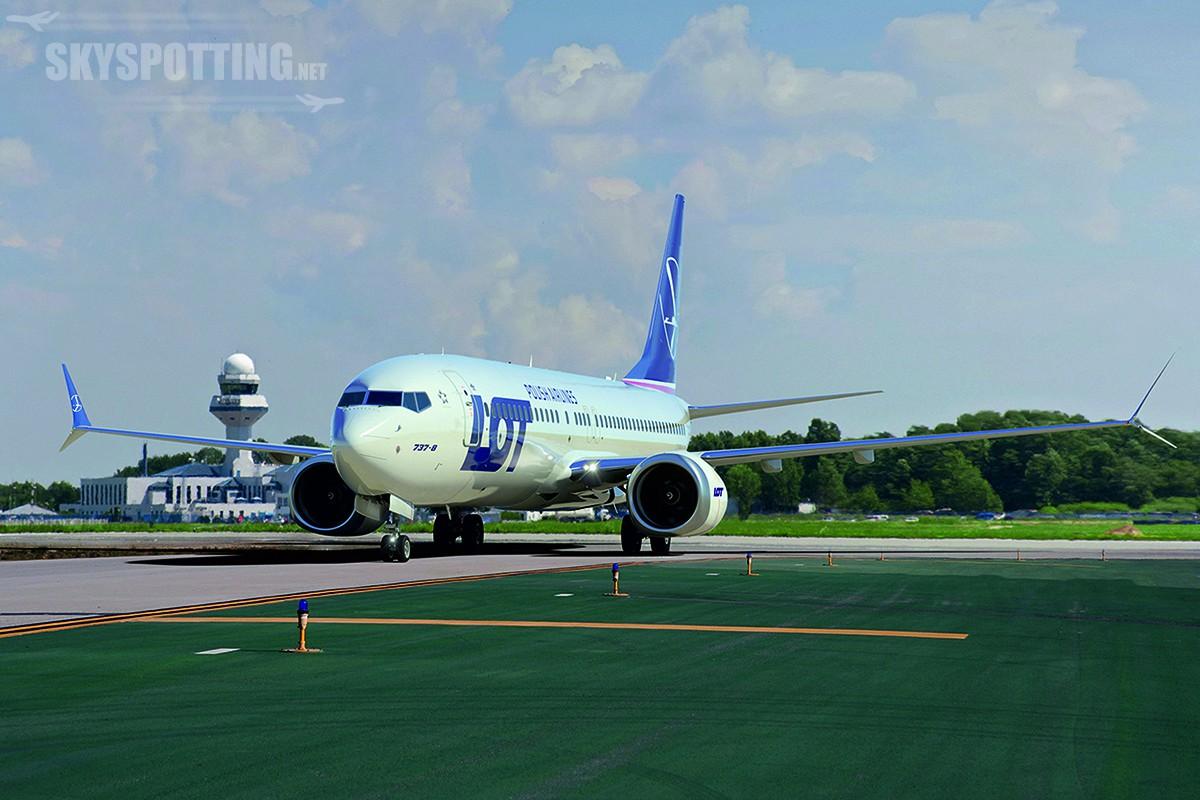 LOT zamawia 10 Boeingów 737, w tym najnowocześniejsze Boeingi 737 MAX 8