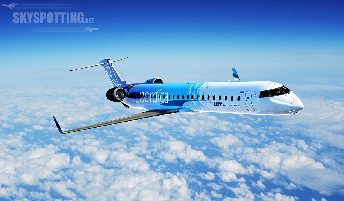 Oficjalny początek współpracy LOT-u z Nordicą – pierwszy samolot wylądował w Warszawie