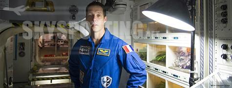 Były pilot Air France Thomas Pesquet  leci w misję kosmiczną
