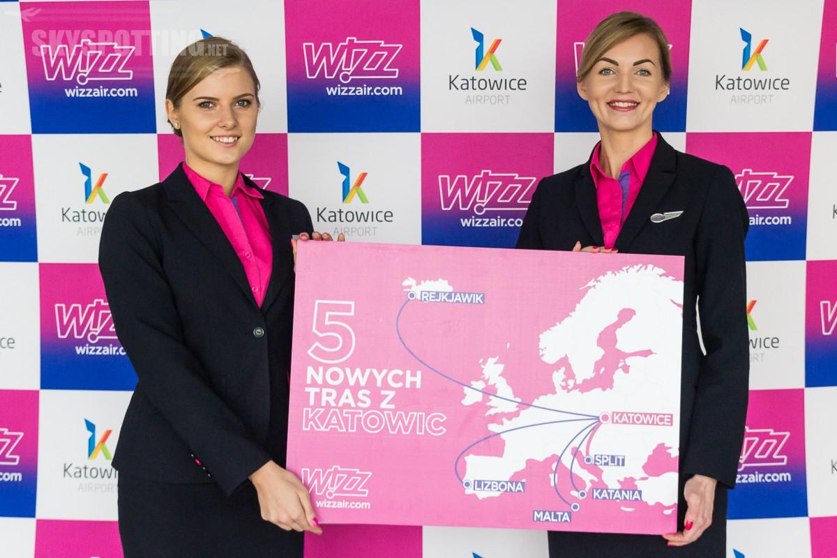 Wizz Air umieszcza 6. samolot na lotnisku w Katowicach i ogłasza nowa trasę