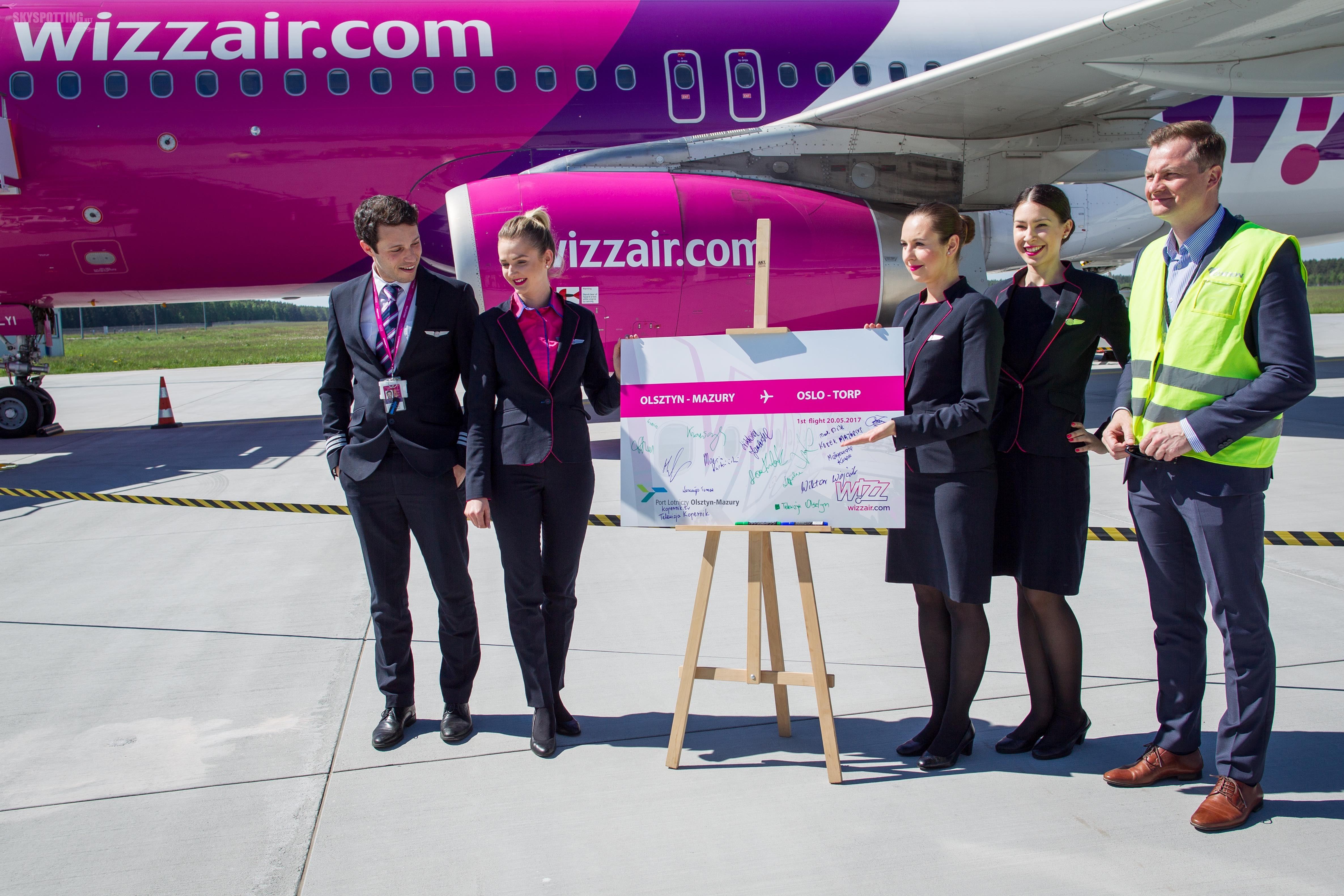 Wizz Air rozpoczyna loty z lotniska Olsztyn-Mazury do Oslo Torp