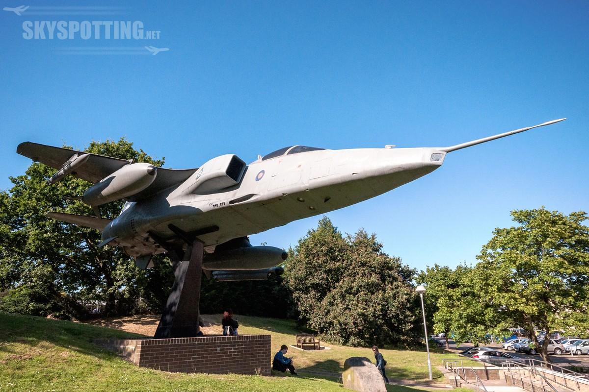 Śladami pomników lotniczych, część 10 – Jaguar, Norwich, UK