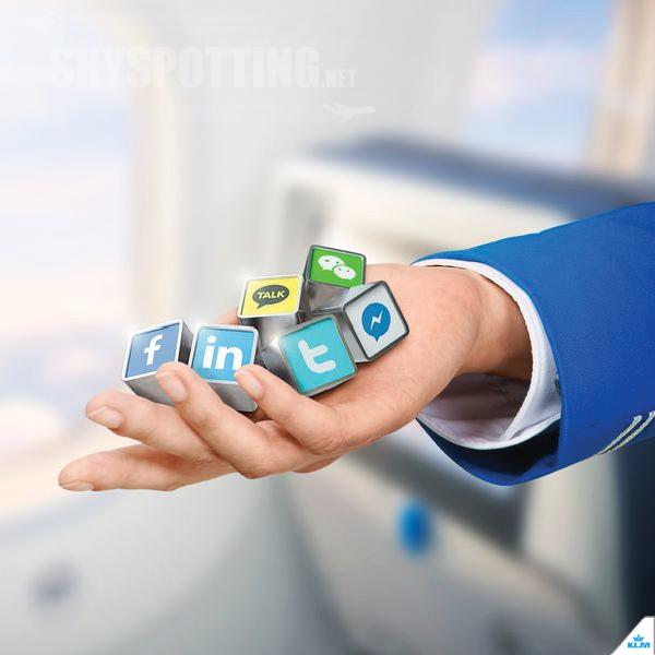 KLM jako pierwsza linia, która wysyła karty pokładowe przez Twittera