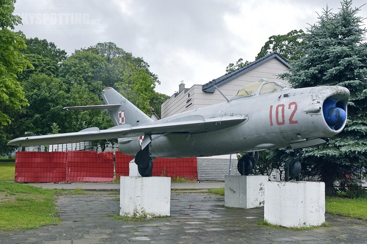 Śladami pomników lotniczych, część 9 – Lim 5P / Mig17PF , Czaplinek , Polska