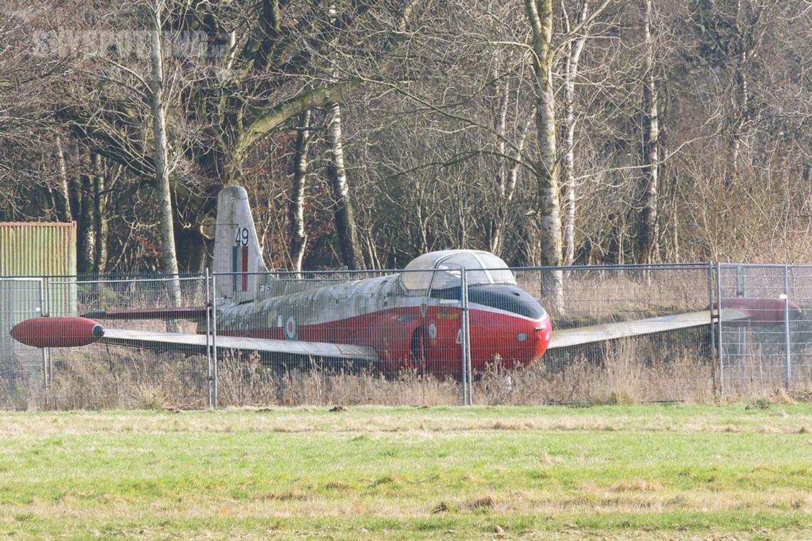 Śladami pomników lotniczych, część 11 – Jet Provost T-3A , Kinross-Balado, Scotland, United Kingdom