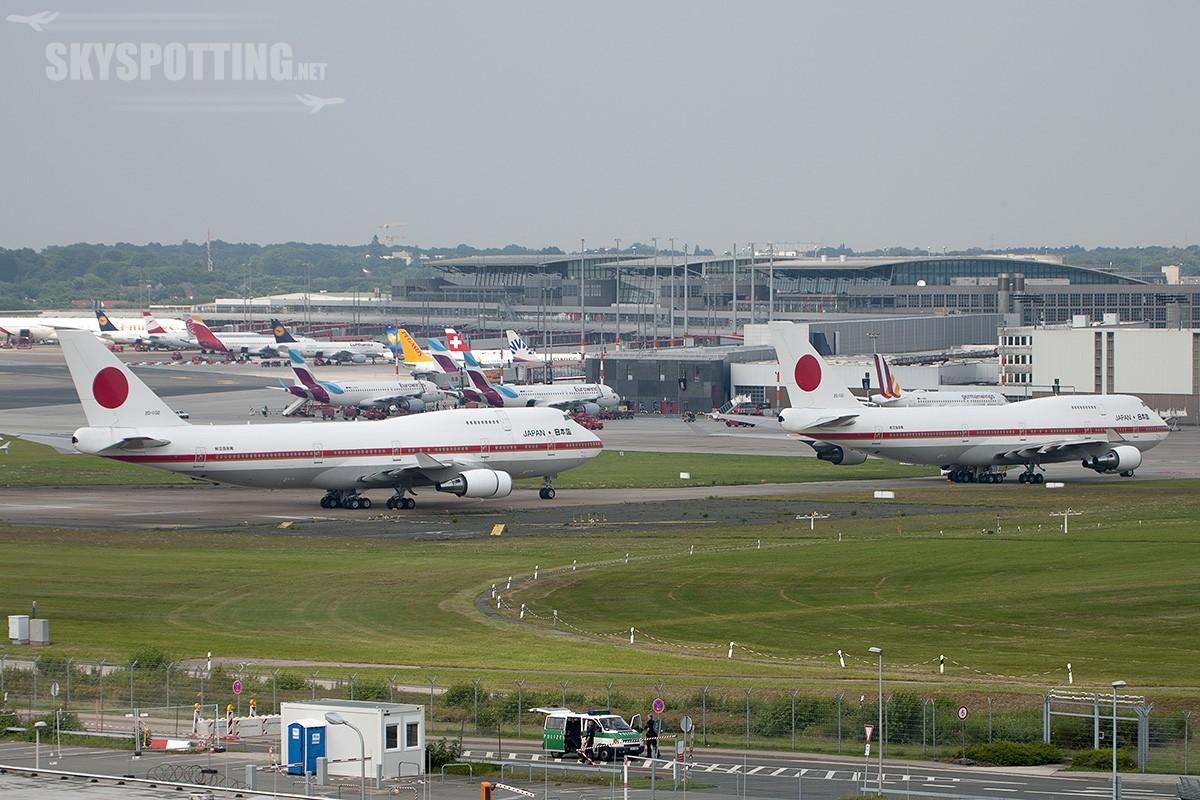 G-20 Summit w Hamburgu – samoloty rządowe obiektywem mojego Nikona