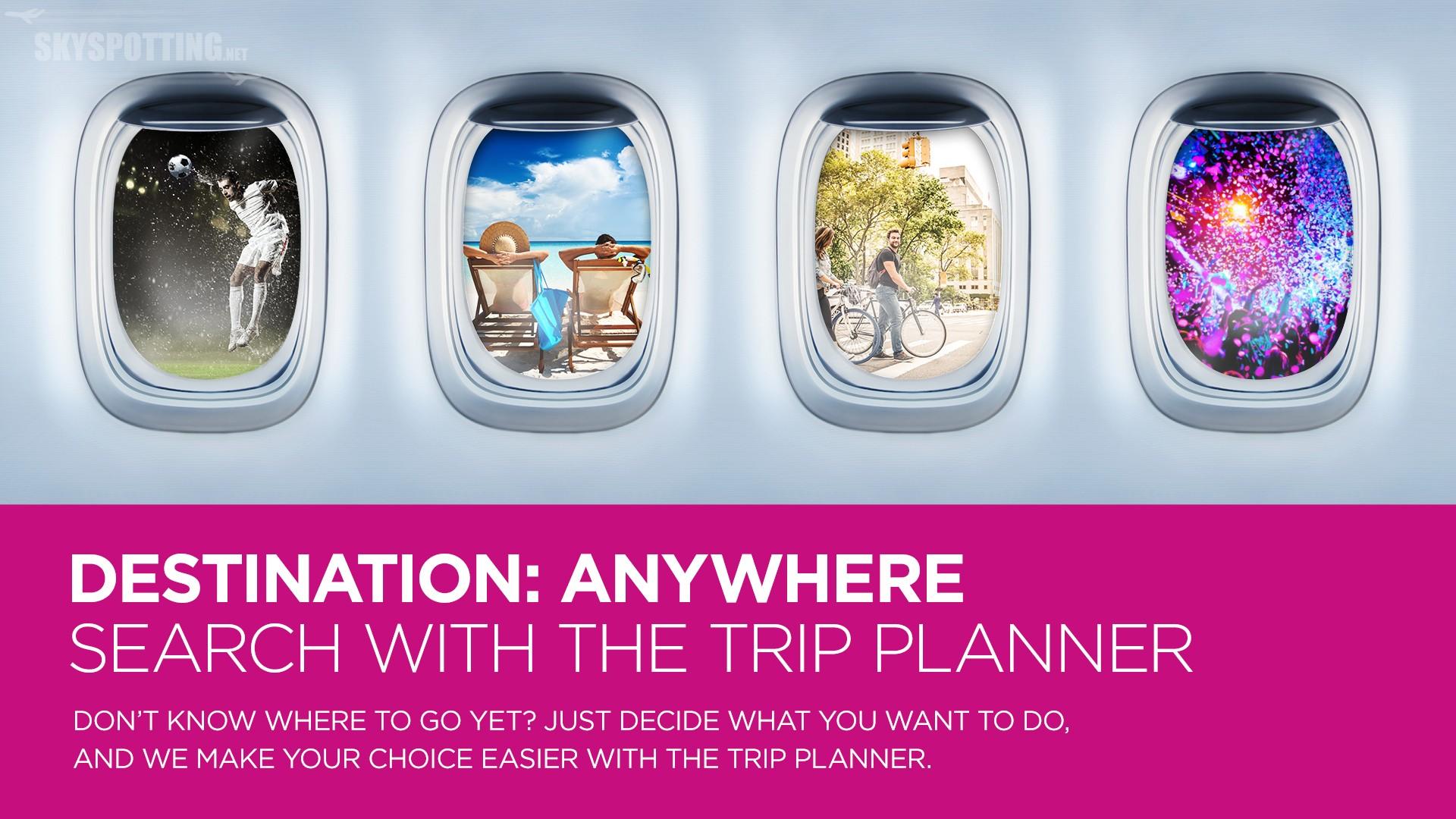 Wizz Air ogłasza nową przyjazną usługę internetową – Trip Planner