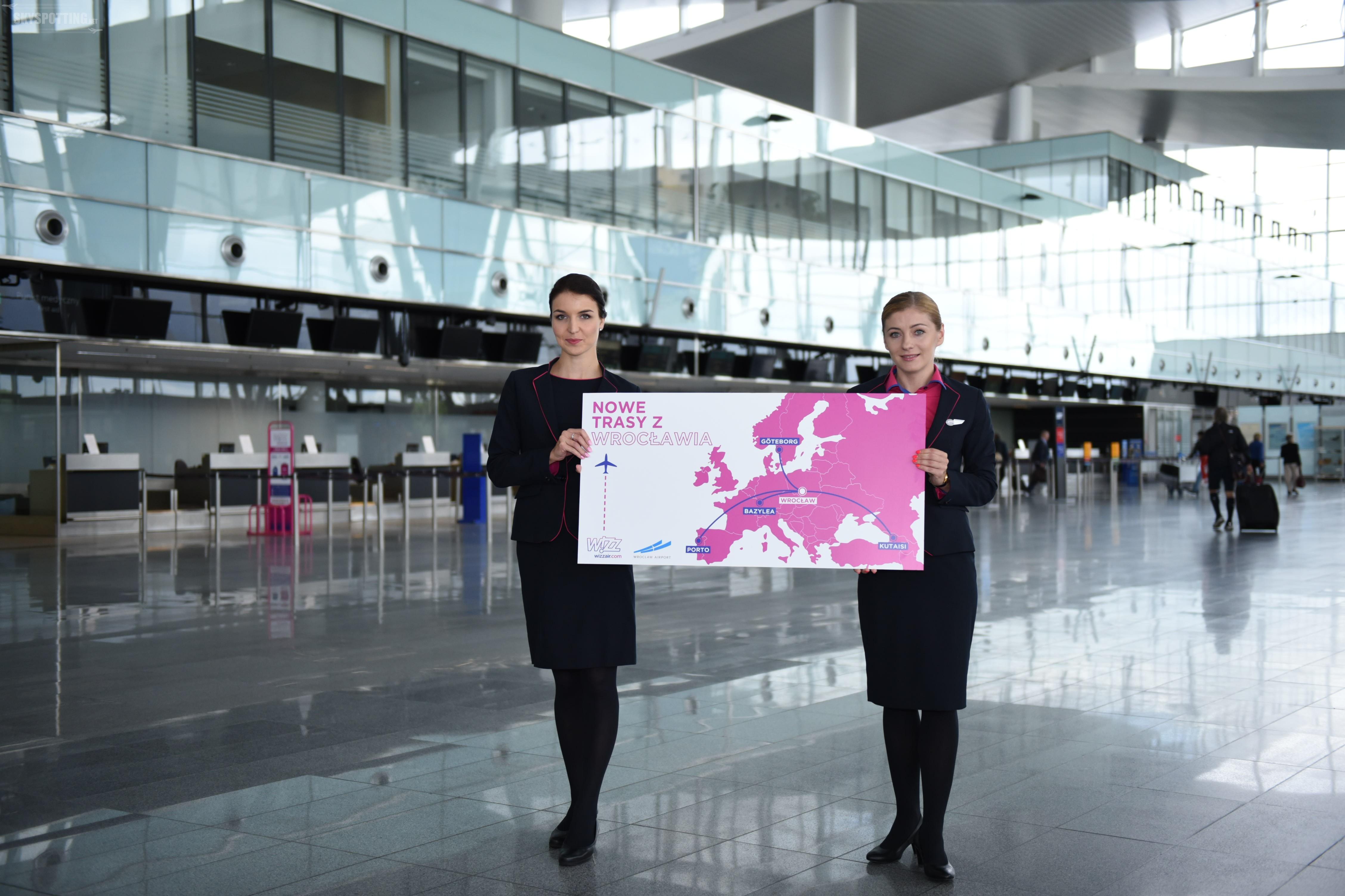 Wizz Air rozwija się we Wrocławiu
