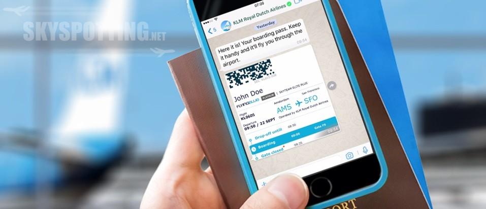 KLM jako pierwsza linia na WhatsApp