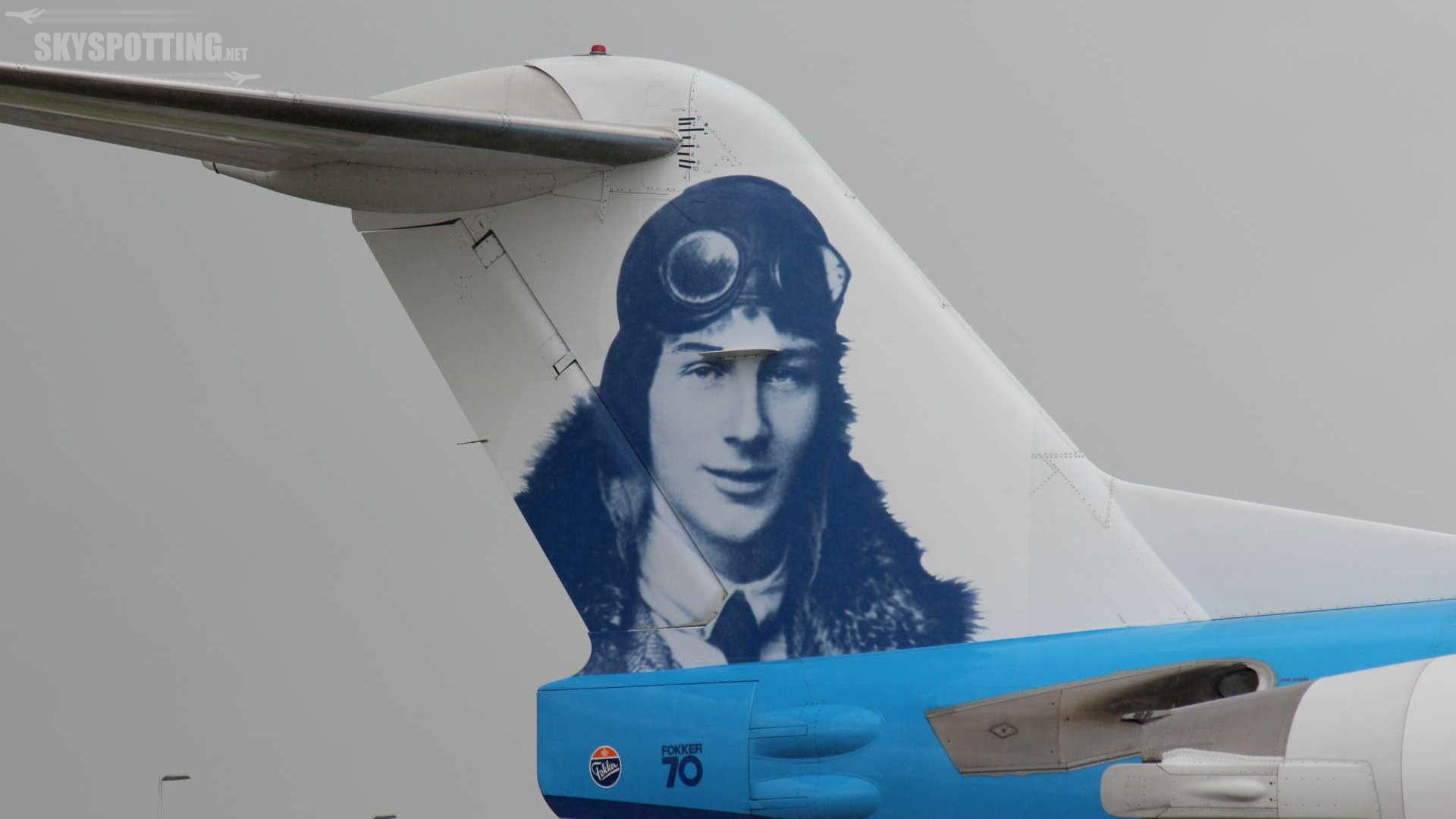 KLM żegna się z Fokkerami