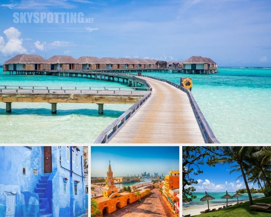 Dokąd polecimy w najbliższym sezonie zimowym z liniami Air France i KLM ? Marrakesz, Malediwy, Mauritius, Cartagena i wiele innych