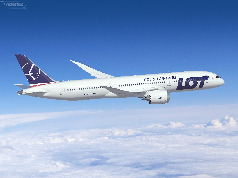 Nowe większe Dreamlinery na trasach LOT-u do Stanów Zjednoczonych i Kanady