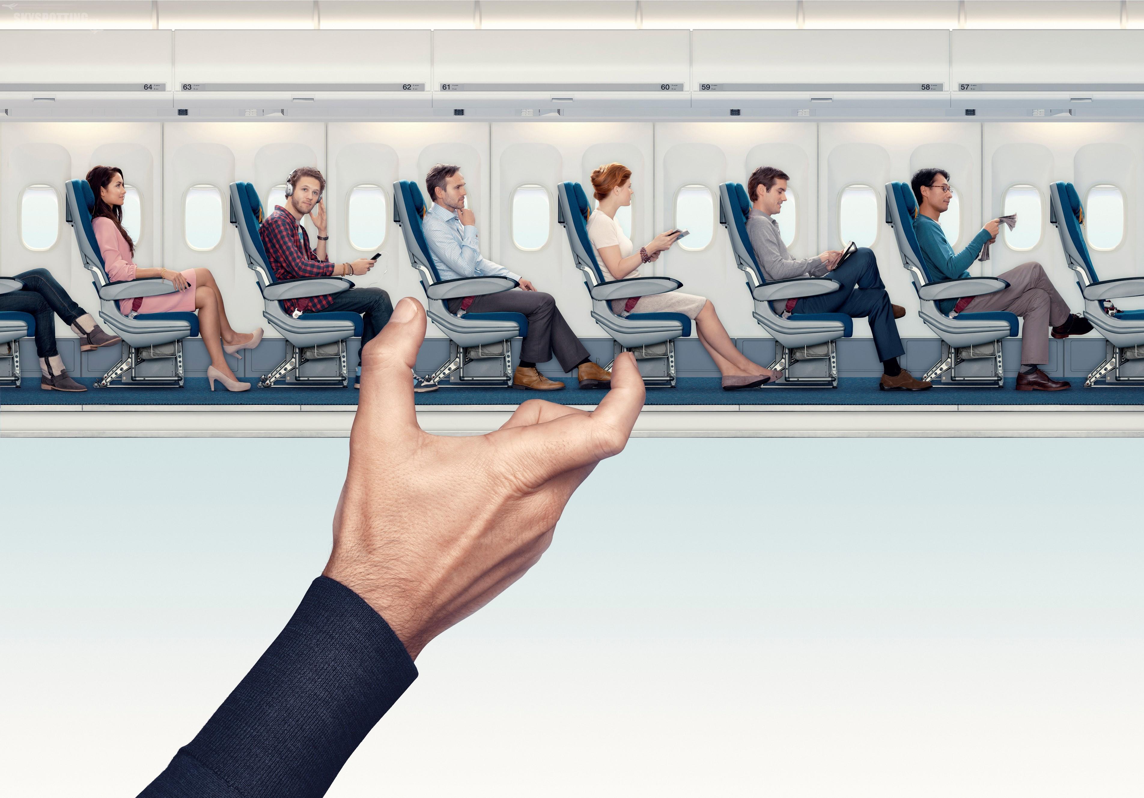 Aby lecieć, trzeba siedzieć ;) . Mini-przewodnik po miejscach w samolotach Air France i KLM.