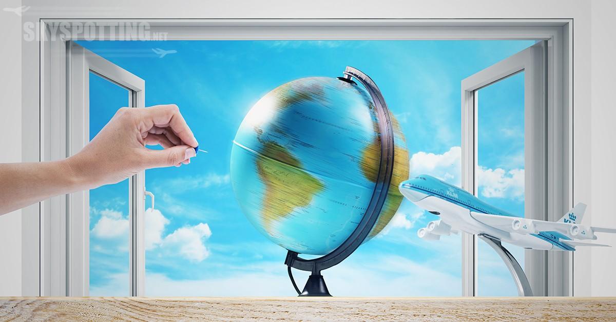 Gdybyś mógł polecieć wszędzie, jakie miejsce na świecie byś wybrał?