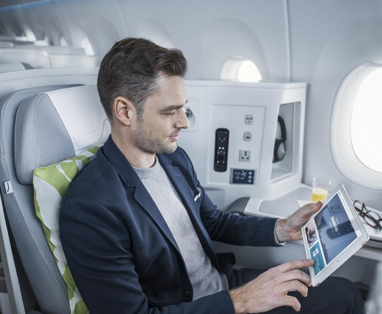 Finnair wprowadza na trasach europejskich najszybszy na rynku internet pokładowy