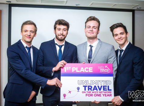 WIZZ AIR ogłasza zwycięzców drugiej edycji Wizz Youth Challange
