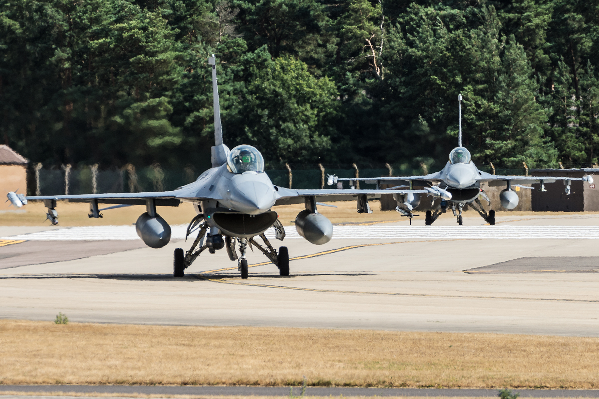 RAF Lakenheath – treningi latania