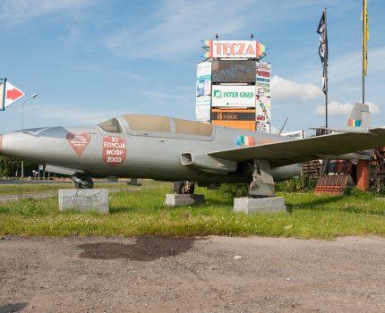 Śladami pomników lotniczych , część 32 – TS-11 Iskra (Koszalin, Polska)