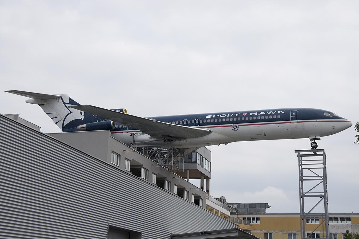 Śladami pomników lotniczych , część 35 – Boeing 727, Iliuszyn IŁ-62 (Graz, Austria)