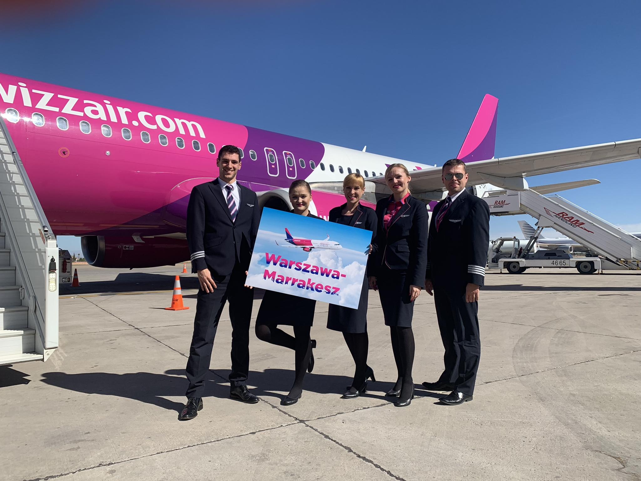 Wizz Air otwiera nowe trasy z Polski do Charkowa, Wiednia i Marrakeszu
