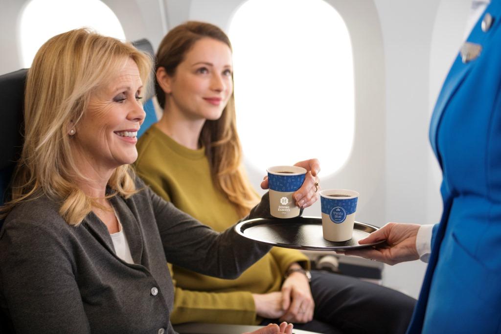 Nowości w samolotach KLM