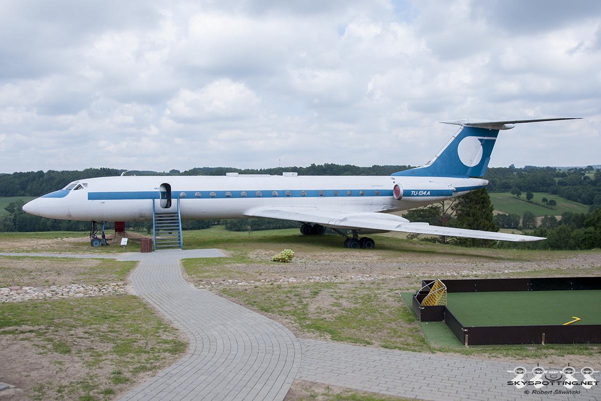 Śladami pomników lotniczych, część 39 – Tupolev Tu-134 (Strysza Buda, Polska)