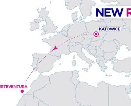 Wizz Air ogłasza nową trasę na Fuerteventurę z Katowic
