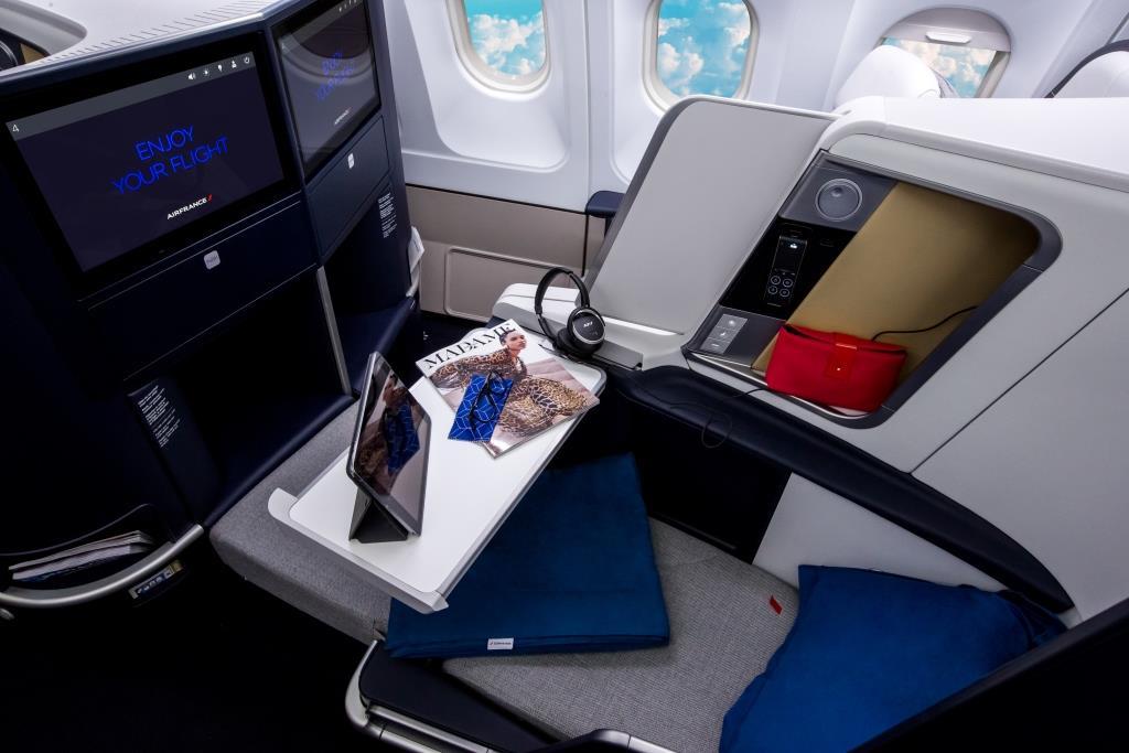 Air France prezentuje nową klasę biznes i zmodernizowane kabiny Airbusów A330