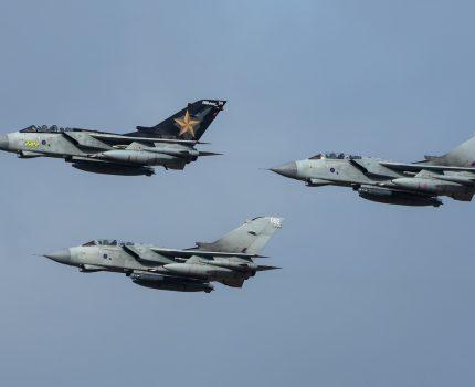 Pożegnanie Tornado nad IWM Duxford