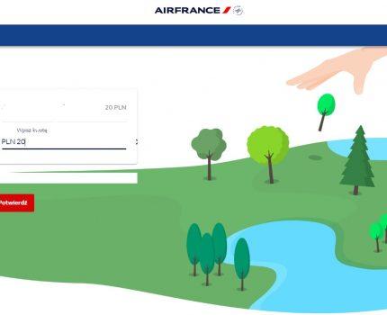Kup bilet i posadź drzewo! Air France zaprasza swoich pasażerów do nowej  ekologicznej inicjatywy