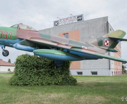 Śladami pomników lotniczych, część 42 – Lim-6bis (Babimost, Poland)