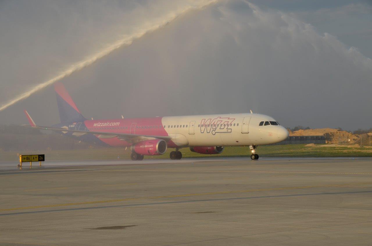 Wizz Air świętuje w Krakowie