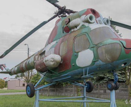 Śladami pomników lotniczych, część 43 – Mil Mi-2 Hoplite (Babimost, Poland)