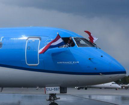 KLM wylądował we Wrocławiu