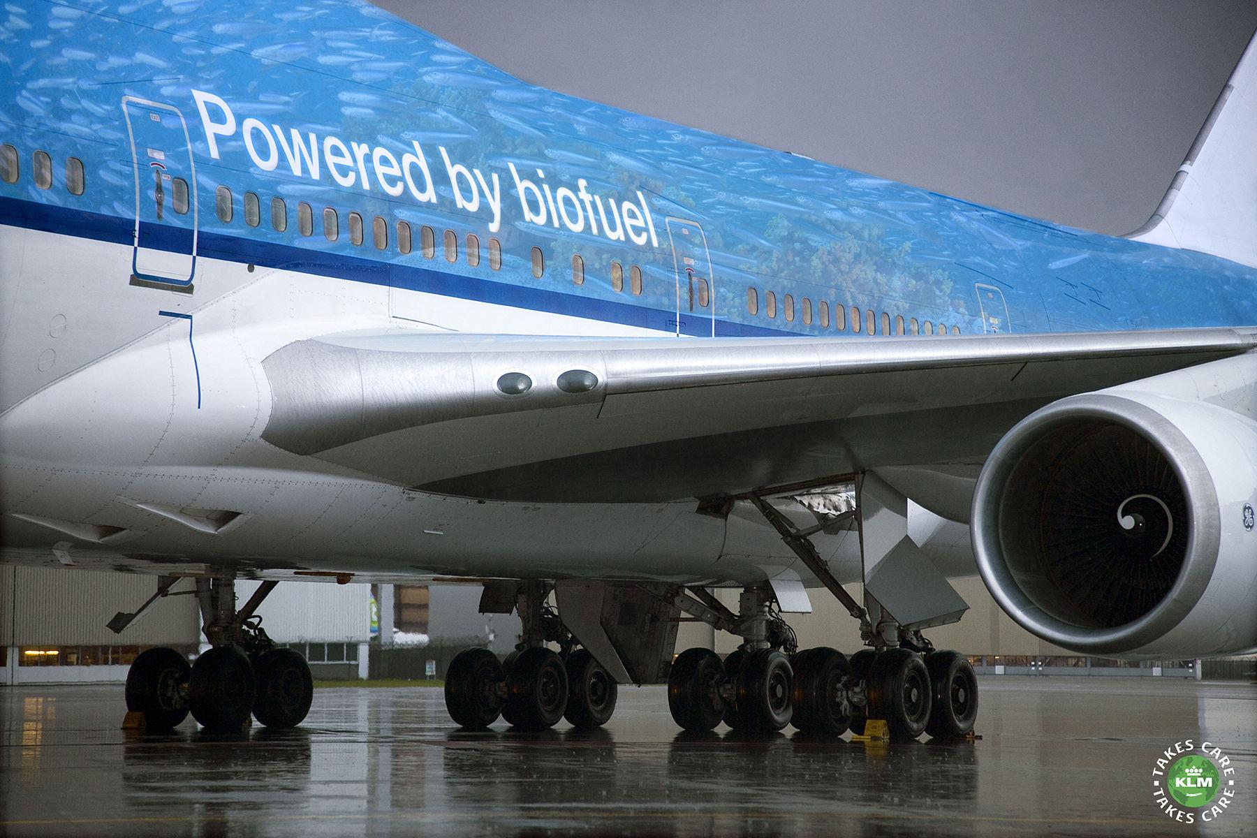 KLM współtworzy pierwszą europejską fabrykę zrównoważonego paliwa lotniczego