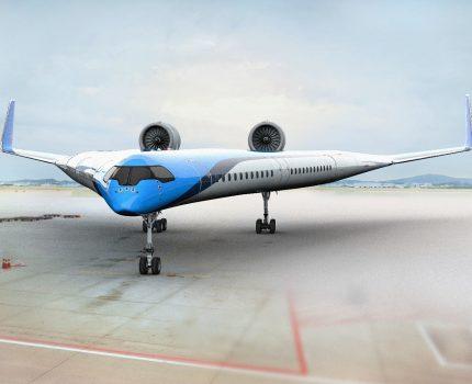 KLM pracuje nad samolotem przyszłości