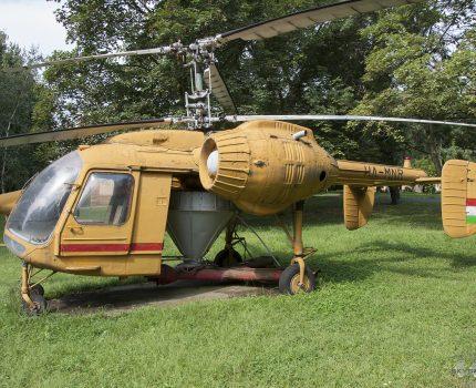 Śladami pomników lotniczych, część 45 – Kamov Ka-26 (Velence, Węgry)
