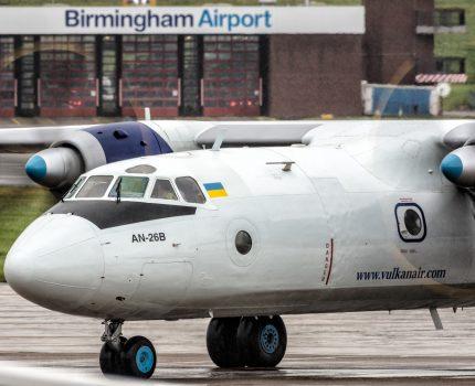 Antonov An-26 w Birmigham