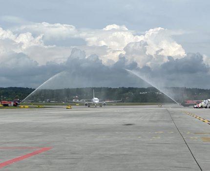 Air France wylądował w Krakowie