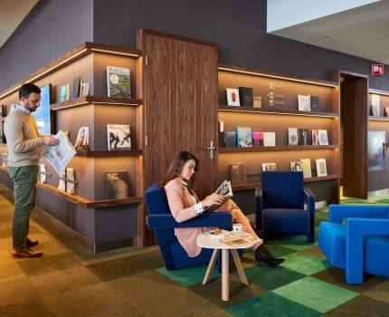 Saloniki lotniskowe KLM w Amsterdamie ponownie otwarte